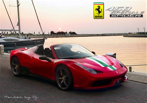 Ferrari 458 Spider Speciale by Ferrari 458 Speciale Spider Is Expected At The Paris Motor