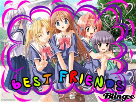 4 Anime Friends by 4 Anime Best Friends Www Pixshark Images Galleries