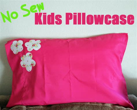 Pillow Cases Ideas by No Sew Pillowcase And Care Kit 30 Minute Crafts