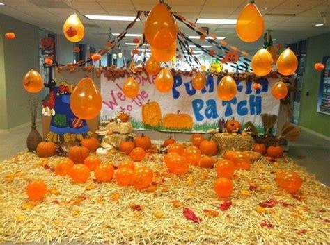 halloween themes work decoration pumpkins patch themed halloween office
