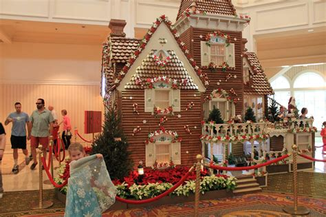 The Gingerbread House In The The Biggest Gingerbread House Ever Exploring Disney