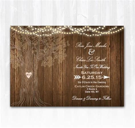 rustic card photography templates blank rustic wedding invitation templates templates