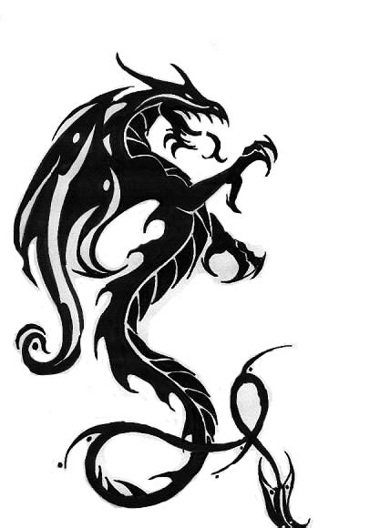 awesome tribal dragon tattoo designs yo tattoo