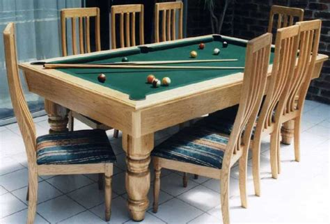 dining table pool table dining table combo