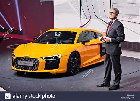 Audi Stadler by Rupert Stadler Audi Stockfotos Rupert Stadler Audi