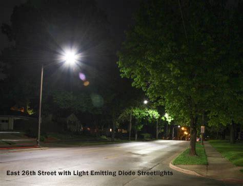 Light Neighborhood by Led Streetlight Neighborhood Pilot Project City Of Sioux