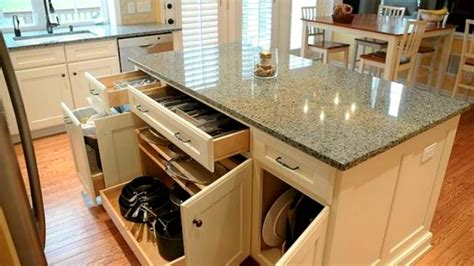 kitchen island storage design 50 kitchen storage and hidden ideas 2017 amazing design