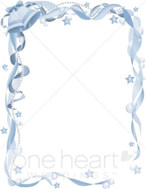 Wedding Bells Border by Blue Wedding Bells Border Wedding Bell Borders
