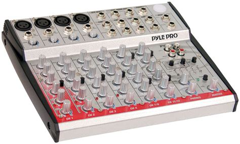 Audio Mixer Linkmaster 12 Channel 12 Ch Mono pylepro pyd1270 musical instruments mixers dj