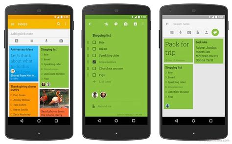 google keep design google keep update brings material design and new features