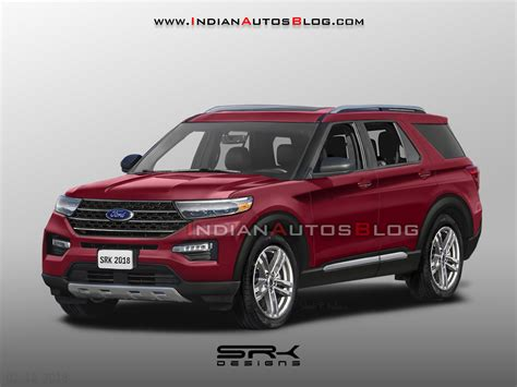 Ford Production 2020 by 2020 Ford Explorer Rendered In Production Guise