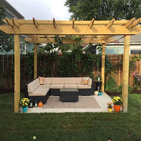 Home Dzine Garden Ideas Build A Shady Pergola