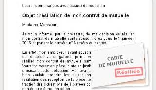 Modele De Lettre Mutuelle Obligatoire Entreprise Mutuelle Sant 233