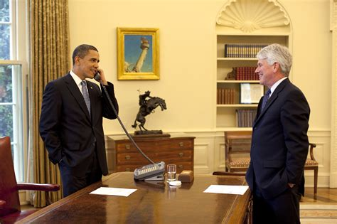 white house counsel file the white house counsel greg craig and president obama talk to retiring supreme