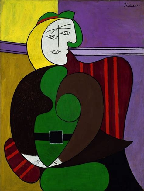 pablo picasso the red armchair picasso pinterest