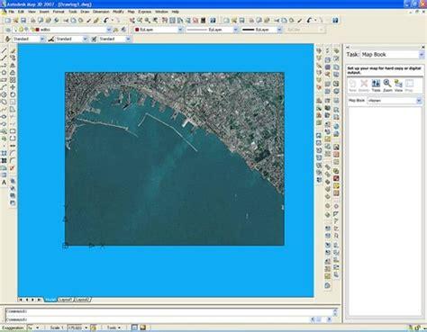 arcgis layout geotiff autocad map approccio al programma