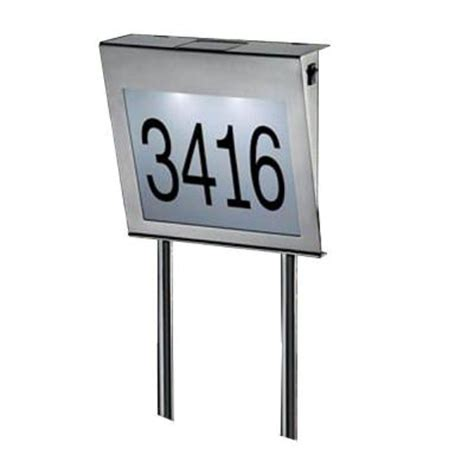 lighted house numbers home depot led house numbers on shoppinder