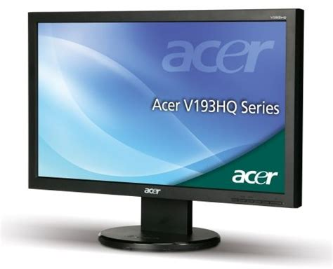 Monitor Acer V193hql acer v193hql 18 5 quot wide led monitor price review and buy