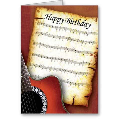 Happy Birthday Card Notes Happy Birthday Guitar Chords Tabs Notes For Solo Instrument