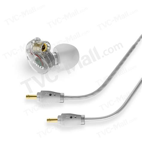 Meelectronics M6 Pro Universal Fit Noise Isolating In Ear Monitors With Detachable Cables M6pro Meelectronics M6 Pro Universal Fit Noise Isolating In Ear Monitors Headset With Detachable Cable