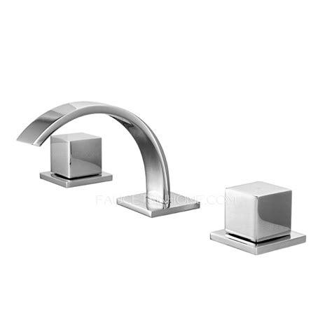 cool bathroom sink faucets cool split three hole two handle bathroom sink faucet