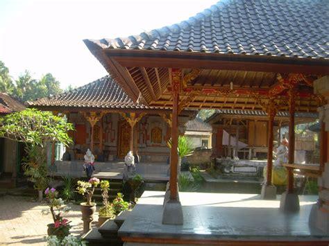 layout rumah tradisional bali rumah adat 171 wisata pulau dewata