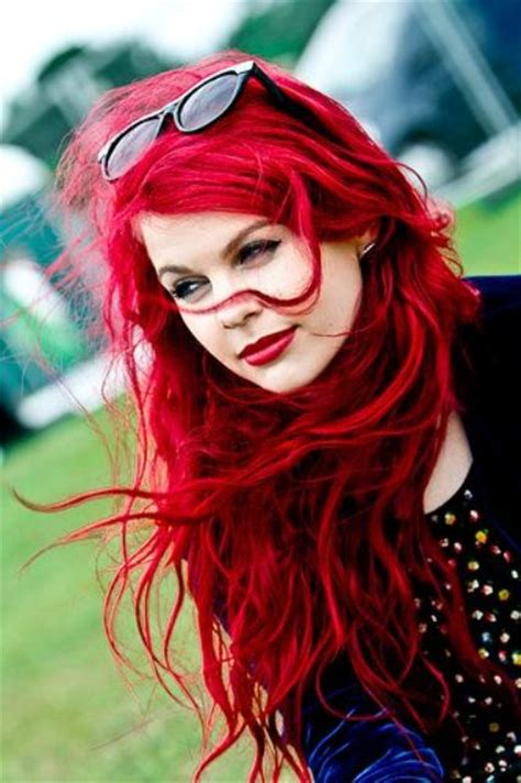 diy beauty from brown hair to bright red hair easy steps picture of messy brilliant bright red hair