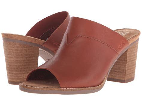 mules sandals toms majorca mule sandal lyst