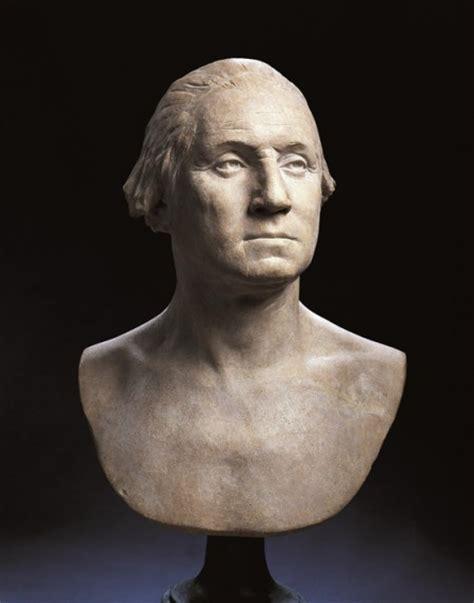biography of george washington by mark mastromarino houdon s life mask of george washington 183 george