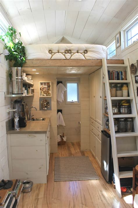 tiny home interior impressive tiny house built for 30k fits family of 3 curbed