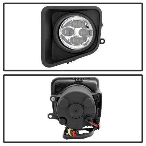 toyota tundra fog light kit spyder 14 16 toyota tundra led fog lights kit