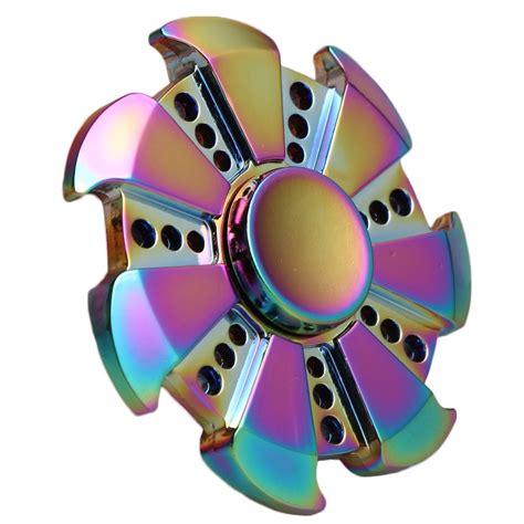 Rainbow Fidget Spinner fidget spinner rainbow spinner edc adhd