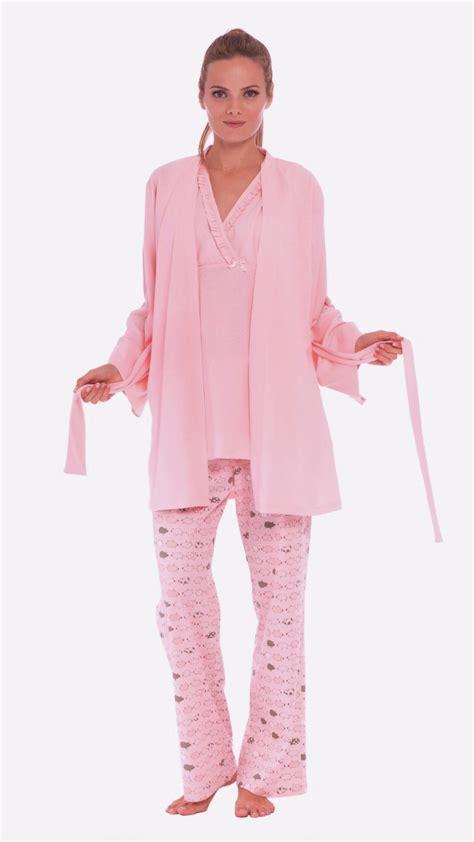 Piyama Pajamas Farm Pink olian pink farm maternity nursing pajamas gift set