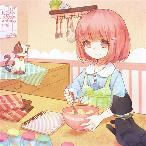 anime about cooking pixiv id 2874985 1428510 zerochan