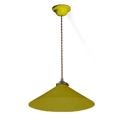 Green Ceiling Light Hanging Ceiling Pendant Light Olive Green Ceramic Shade Corded Cable