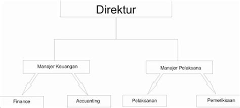 membuat struktur organisasi sederhana struktur organisasi