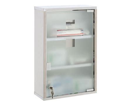 locking wall cabinet steel medicine cabinet s steel wall mounted lockable aid