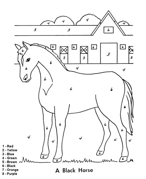 color by number coloring pages easy easy color by numbers coloring pages getcoloringpages com
