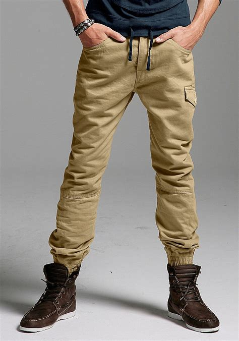 mens fashion tucked into boots chillige cargohose m 228 nner otto casual