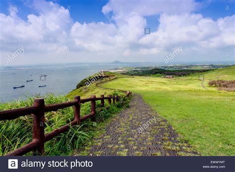Landscape Photography Korea Landscape Of Jeju Island South Korea Stock Photo Royalty