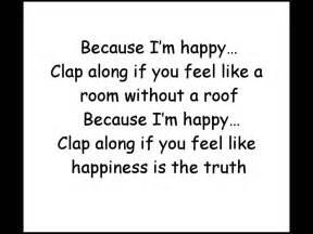 pharrell williams happy official lyrics