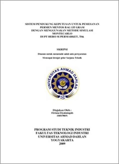 format penulisan cover skripsi contoh kata penutup makalah yang baik dan benar resepi