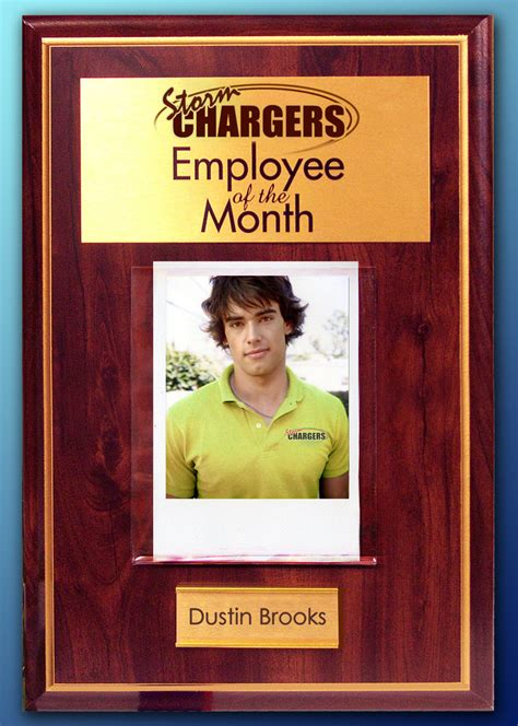 employee of the month poster template employee of the month dustin by rogue ranger on deviantart