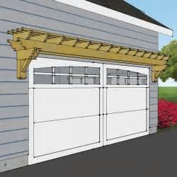 Garage Pergola Plans by 25 Best Ideas About Garage Pergola On Garage