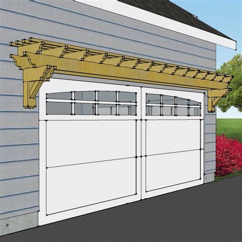 pergola garage door best 25 garage pergola ideas on garage trellis small garage and arbors for sale