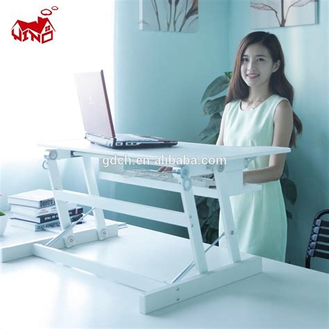 Desk For Standing And Sitting Products Office Desk Adjustable Sitting And Standing Workstation Buy Sitting And