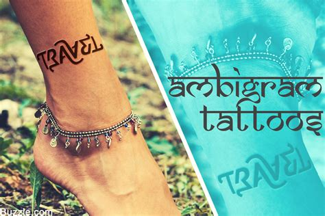 weave tattoo designs weave a web of magic with cool ambigram design ideas