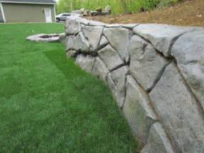stonemakers blog concrete retaining wall