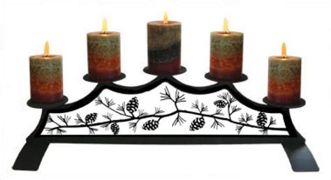 fireplace candle holder wrought iron candle holder