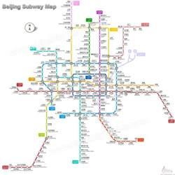 Beijing Subway Map Beijing Subway Map Latest Maps Of Beijing Subway And Stations